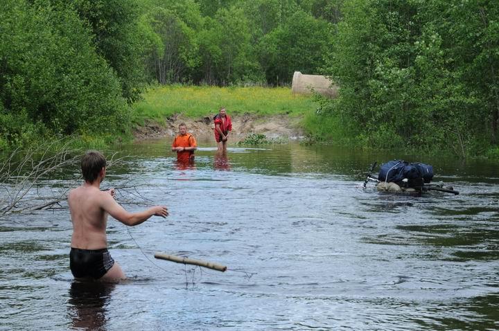 велопоходы на рыбалку